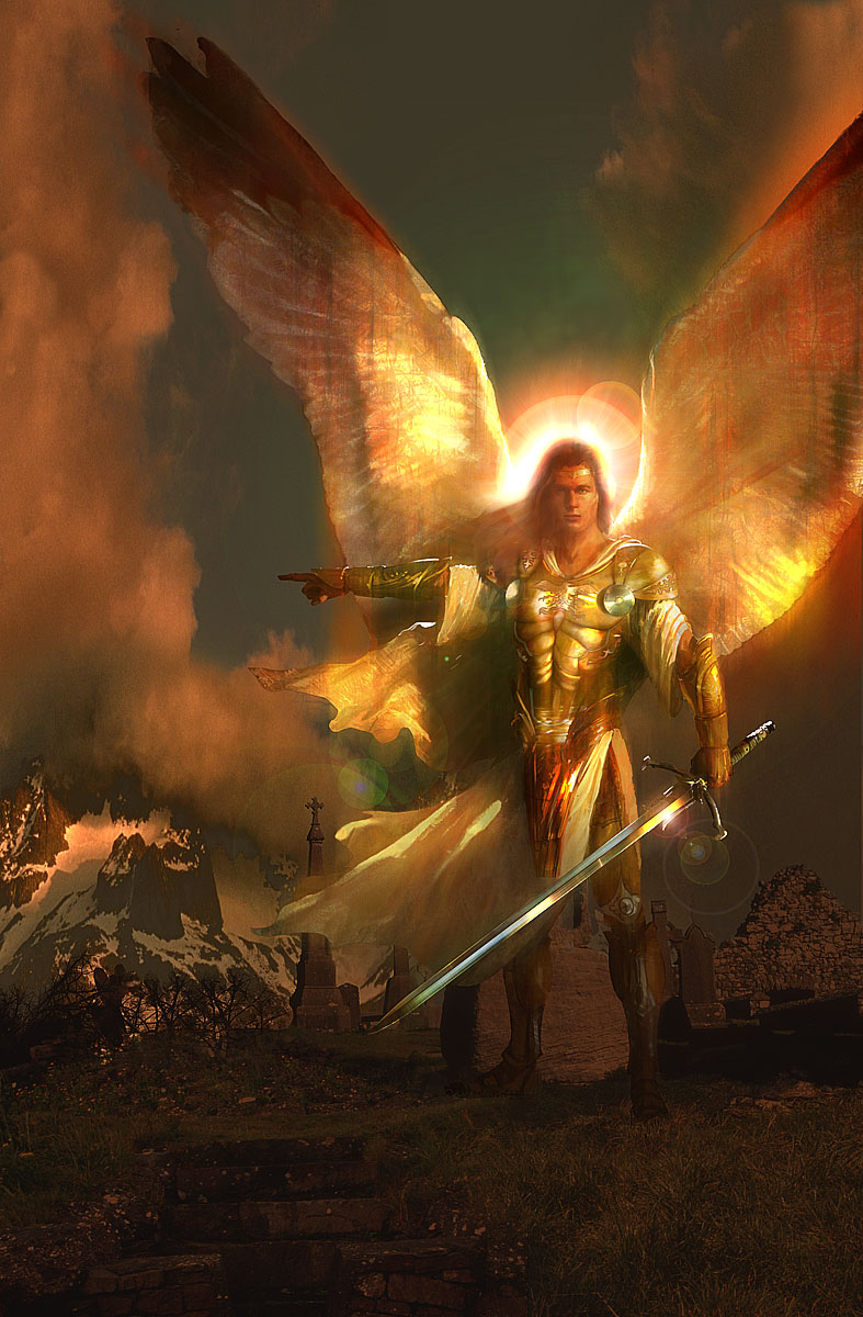 Archangel depiction