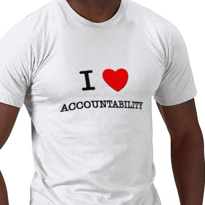 Unsuccessful T-Shirts #1- I Love Accountability