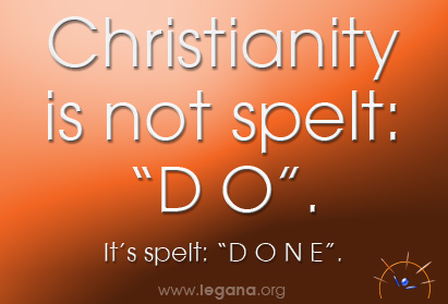 Christianity is spelt - DONE