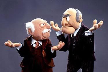 Grumpy old muppets