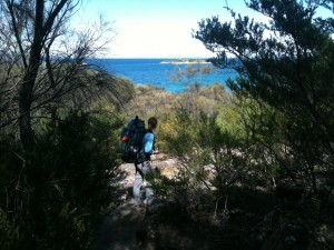 Walking the Freycinet Track