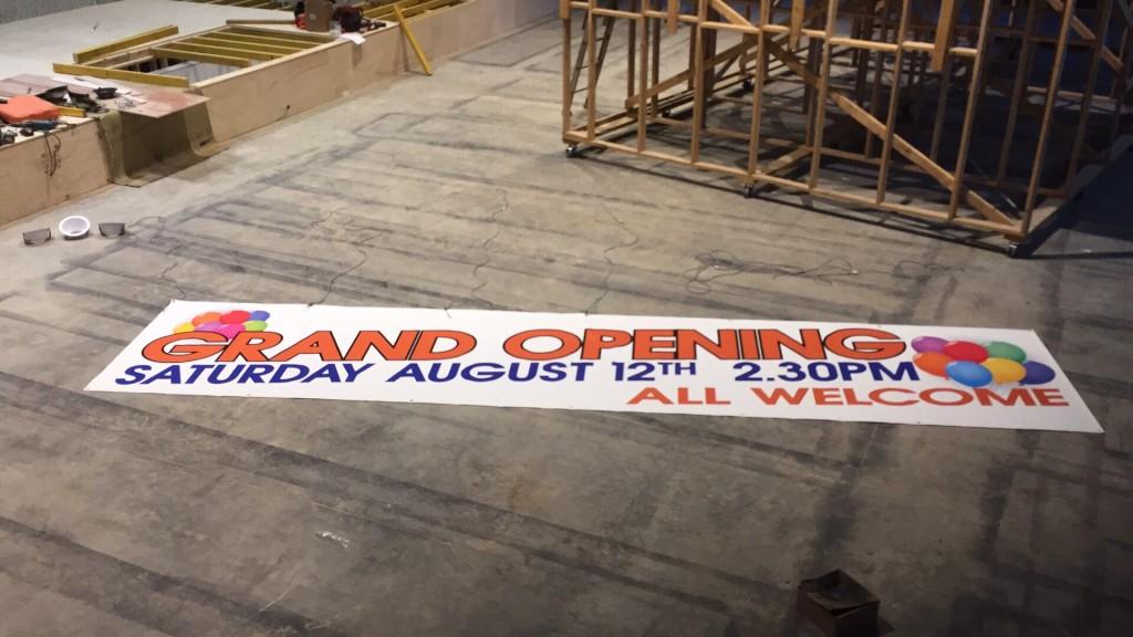 New Auditorium Grand Opening