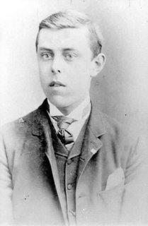 F.W. Boreham as a boy