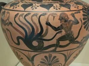 Hercules fighting Hydra