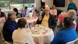 Executive Pastor Tony Boyle celebrating one of our volunteer's 81st birthday