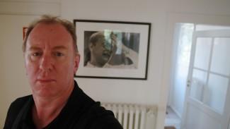 Andrew Corbett in Dietrich Bonhoeffer's house