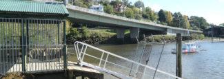 View of Kings Bridge Launceston