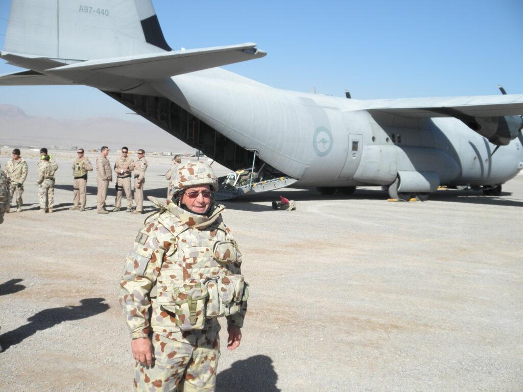 Ret. Major Steve Cloudsdale