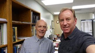 Dr. Hugh Ross with Dr. Andrew Corbett