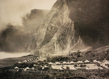 Molokai, Hawaii, used in the 1800s as a leper colony