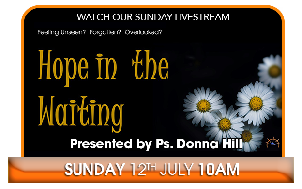 Watch Our Livestream - Sunday 10AM