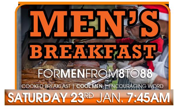 Men's Breakfast January 23rd 2021