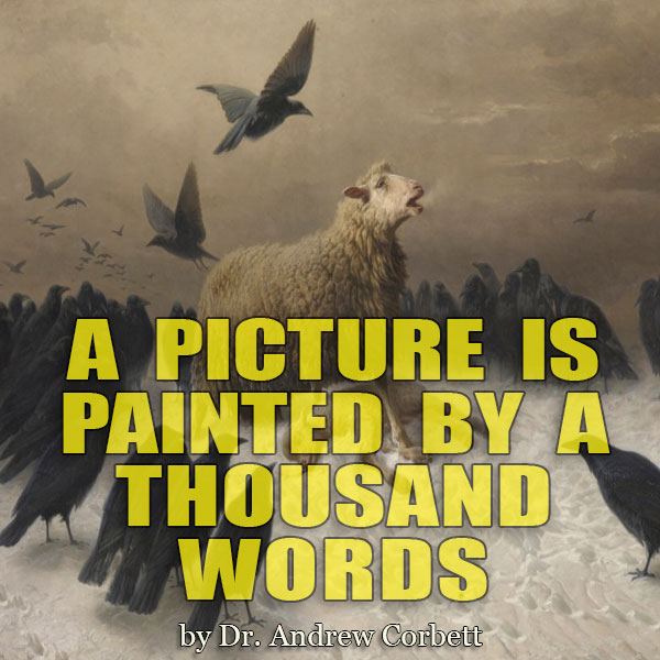 A PICTURE IS PAINTED BY A THOUSAND WORDS