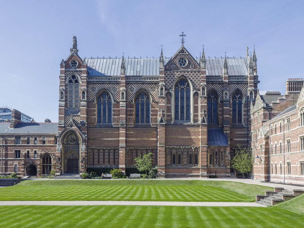 Keble College Chapel, Oxford University